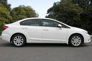 2012 Honda Civic 9th Gen Ser II VTi-LN Taffeta White 5 Speed Sports Automatic Sedan