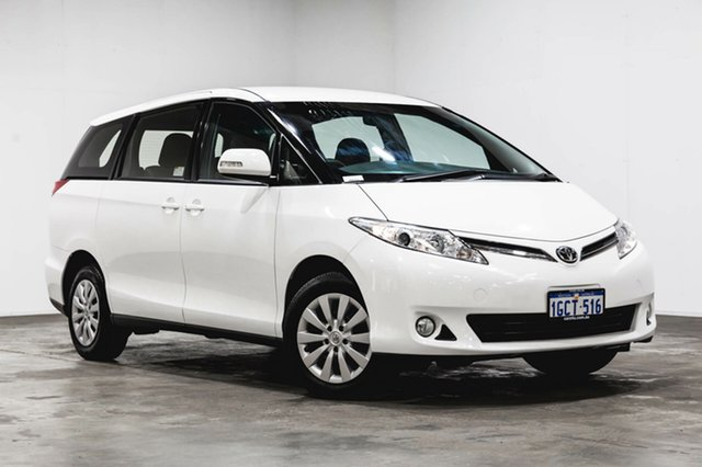 Used Toyota Tarago ACR50R MY13 GLi, 2016 Toyota Tarago ACR50R MY13 GLi White 7 Speed Constant Variable Wagon
