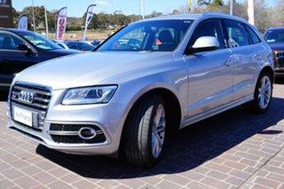 2016 Audi SQ5 8R MY16 TDI Tiptronic Quattro Silver 8 Speed Sports Automatic Wagon.