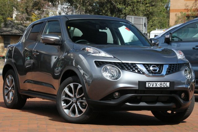 Used Nissan Juke F15 Series 2 Ti-S X-tronic AWD, 2017 Nissan Juke F15 Series 2 Ti-S X-tronic AWD Gun Metallic 1 Speed Constant Variable Hatchback