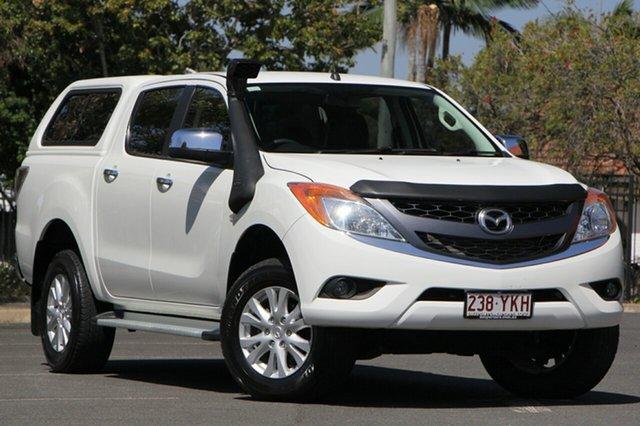 Used Mazda BT-50 UP0YF1 XTR, 2015 Mazda BT-50 UP0YF1 XTR White 6 Speed Sports Automatic Utility