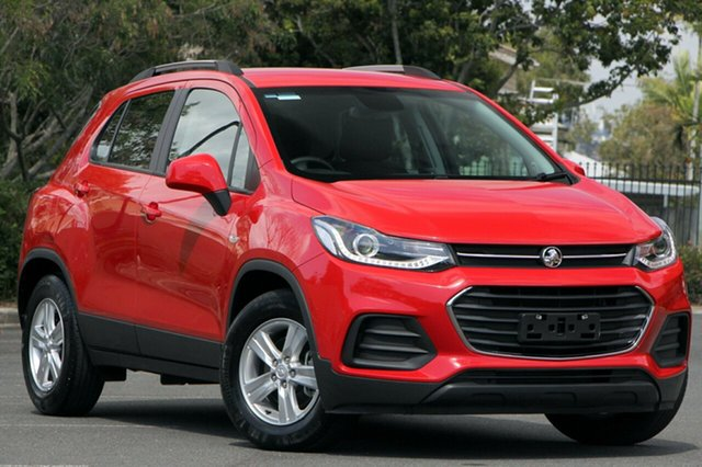 Used Holden Trax TJ MY17 LS, 2017 Holden Trax TJ MY17 LS Red 6 Speed Automatic Wagon