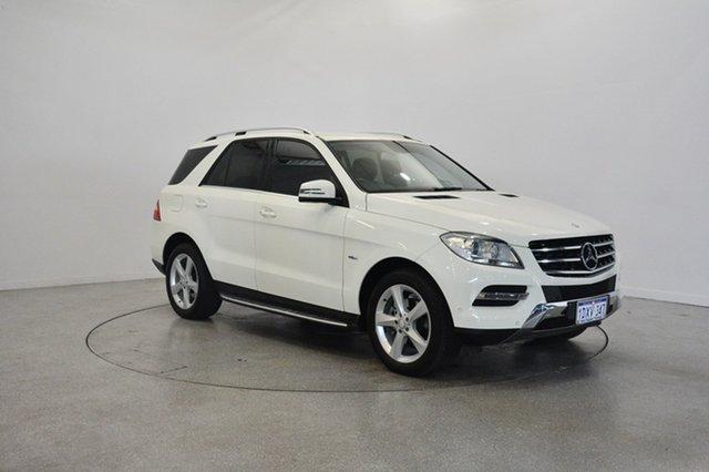 Used Mercedes-Benz ML250 W166 BlueTEC 7G-Tronic +, 2012 Mercedes-Benz ML250 W166 BlueTEC 7G-Tronic + White 7 Speed Sports Automatic Wagon