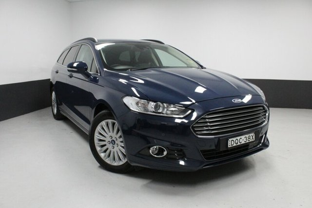 Used Ford Mondeo MD Trend PwrShift, 2016 Ford Mondeo MD Trend PwrShift Blazer Blue 6 Speed Sports Automatic Dual Clutch Wagon