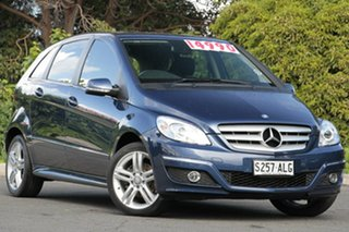 2010 Mercedes-Benz B180 W245 MY11 Lotus Blue 1 Speed Constant Variable Hatchback.