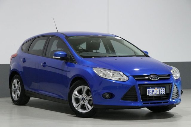 Used Ford Focus LW MK2 Trend, 2013 Ford Focus LW MK2 Trend Blue 6 Speed Automatic Hatchback