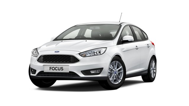 New Ford Focus LZ Trend, 2018 Ford Focus LZ Trend Frozen White 6 Speed Automatic Hatchback