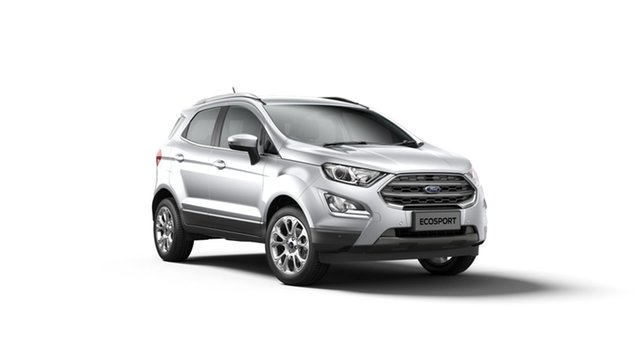 New Ford Ecosport BL 2019.25MY Titanium, 2019 Ford Ecosport BL 2019.25MY Titanium Moondust Silver 6 Speed Automatic Wagon