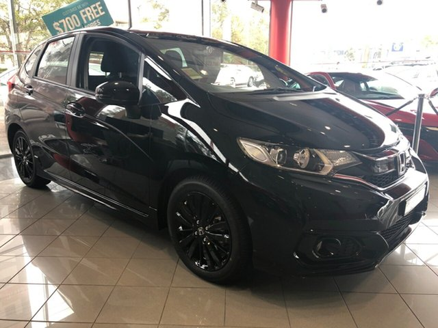 Demo Honda Jazz MY19 , 2018 Honda Jazz MY19 JAZZ 5A VTI-SL LIMITED EDITION 19 Crystal Black Sedan