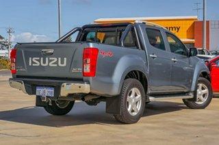 2013 Isuzu D-MAX MY12 LS-U Crew Cab Grey 5 Speed Sports Automatic Utility.