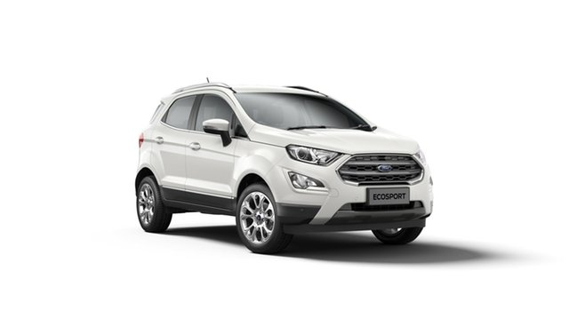 New Ford Ecosport BL 2020.00MY Titanium Deer Park, 2019 Ford Ecosport BL 2020.00MY Titanium Diamond White 6 Speed Automatic Wagon