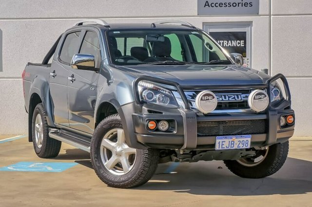 Used Isuzu D-MAX MY12 LS-U Crew Cab, 2013 Isuzu D-MAX MY12 LS-U Crew Cab Grey 5 Speed Sports Automatic Utility