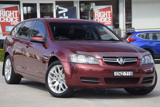 Used Holden Commodore VE MY09.5 International Sportwagon, 2009 Holden Commodore VE MY09.5 International Sportwagon Burgundy 4 Speed Automatic Wagon