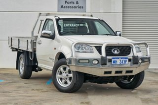 2011 Great Wall V200 K2 MY12 White 6 Speed Manual Cab Chassis