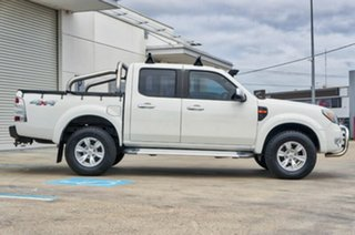 2011 Ford Ranger PK XLT Crew Cab White 5 Speed Manual Utility.
