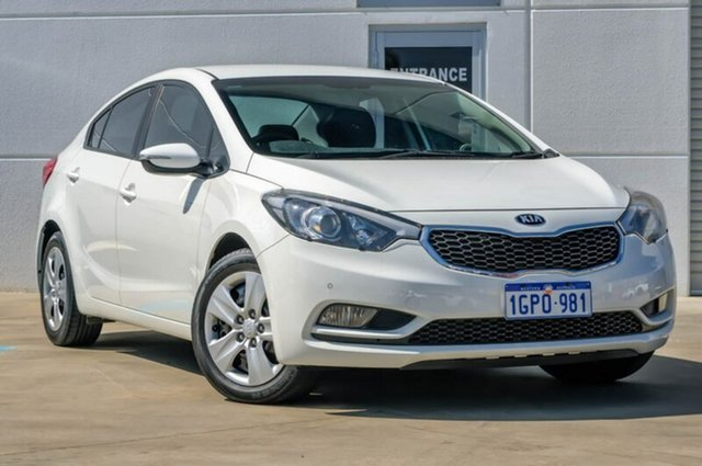 Used Kia Cerato YD MY15 S, 2015 Kia Cerato YD MY15 S White 6 Speed Manual Sedan