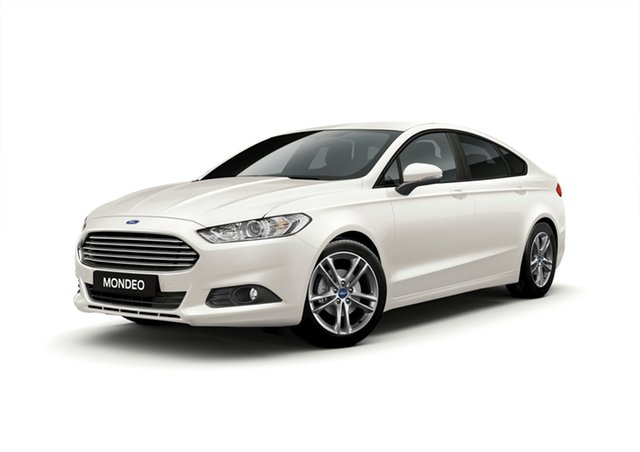 New Ford Mondeo MD 2019.5MY Ambiente, 2019 Ford Mondeo MD 2019.5MY Ambiente Frozen White 6 Speed Auto Hatchback