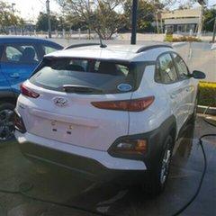 2018 Hyundai Kona OS.2 MY19 Active 2WD Chalk White 6 Speed Sports Automatic Wagon.
