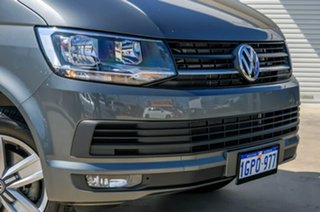 2017 Volkswagen Caravelle T6 MY18 TDI340 LWB DSG Indium Grey 7 Speed Sports Automatic Dual Clutch