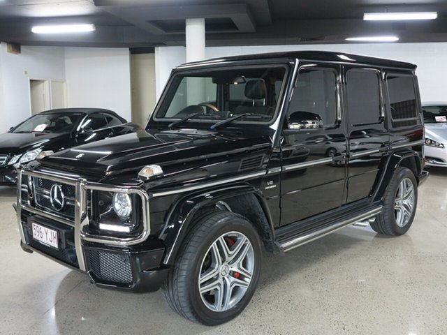 Used Mercedes-Benz G-Class W463 MY807 G63 AMG SPEEDSHIFT PLUS 4MATIC, 2016 Mercedes-Benz G-Class W463 MY807 G63 AMG SPEEDSHIFT PLUS 4MATIC Black 7 Speed Sports Automatic