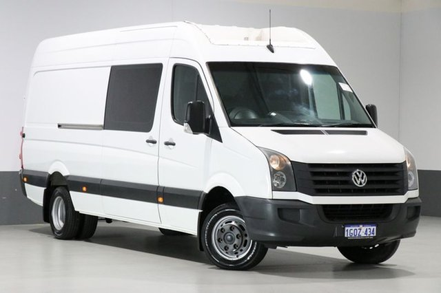 Used Volkswagen Crafter 2EH2 MY11 50 LWB, 2011 Volkswagen Crafter 2EH2 MY11 50 LWB White 6 Speed Manual Van