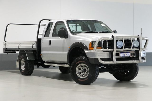 Used Ford F250 RM XLT (4x4), 2002 Ford F250 RM XLT (4x4) Silver 4 Speed Automatic Super Cab Pickup