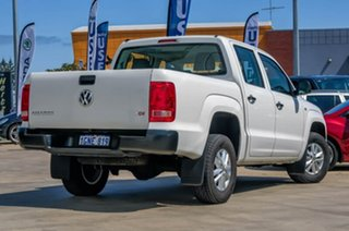 2017 Volkswagen Amarok 2H MY18 TDI420 4x2 Candy White 8 Speed Automatic Utility.