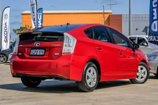 2009 Toyota Prius ZVW30R I-Tech Red/Black 1 Speed Constant Variable Liftback Hybrid.