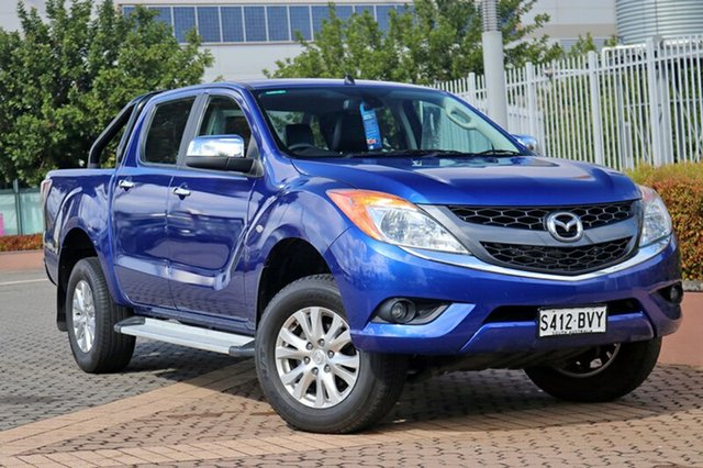 Used Mazda BT-50 UP0YF1 GT, 2012 Mazda BT-50 UP0YF1 GT Blue 6 Speed Sports Automatic Utility