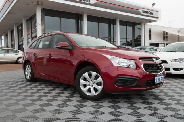 Used Holden Cruze JH Series II MY16 CD Sportwagon, 2015 Holden Cruze JH Series II MY16 CD Sportwagon Velvet Red 6 Speed Sports Automatic Wagon