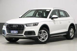 2017 Audi Q5 FY MY17 2.0 TDI Quattro Design White 7 Speed Auto S-Tronic Wagon.