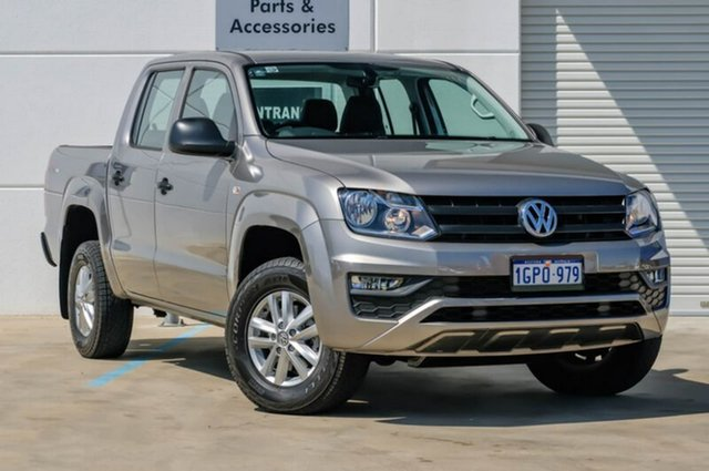 Used Volkswagen Amarok 2H MY16 TDI420 4MOTION Perm Core, 2016 Volkswagen Amarok 2H MY16 TDI420 4MOTION Perm Core Beige 8 Speed Automatic Utility