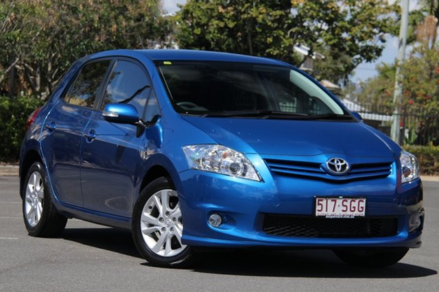 Used Toyota Corolla ZRE182R Ascent Sport, 2012 Toyota Corolla ZRE182R Ascent Sport Blue 6 Speed Manual Hatchback