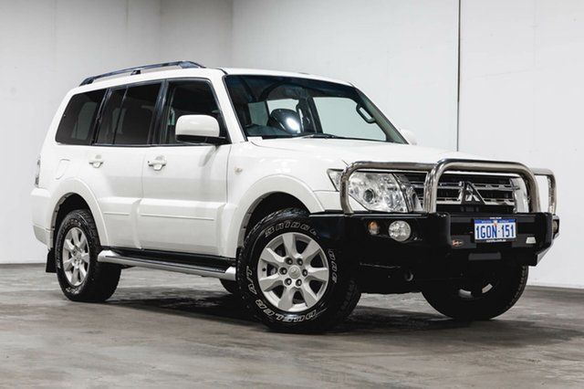 Used Mitsubishi Pajero NW MY12 GLS, 2012 Mitsubishi Pajero NW MY12 GLS White 5 Speed Sports Automatic Wagon