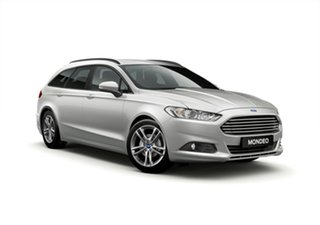 2018 Ford Mondeo MD 2018.25MY Ambiente PwrShift Silver 6 Speed Sports Automatic Dual Clutch Wagon.
