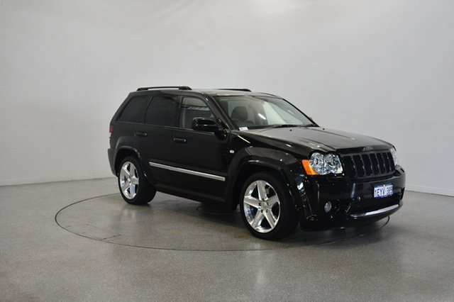 Used Jeep Grand Cherokee WH MY2007 SRT-8, 2008 Jeep Grand Cherokee WH MY2007 SRT-8 Black 5 Speed Automatic Wagon