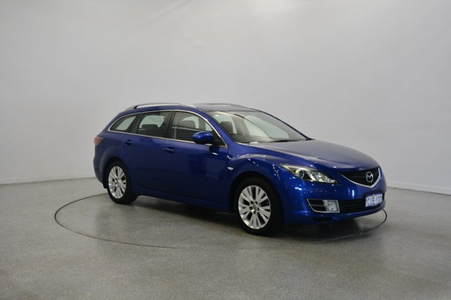 Used Mazda 6 GH1051 Classic, 2008 Mazda 6 GH1051 Classic Blue 5 Speed Sports Automatic Wagon