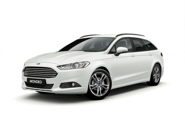New Ford Mondeo MD 2018.75MY Ambiente PwrShift, 2018 Ford Mondeo MD 2018.75MY Ambiente PwrShift Frozen White 6 Speed Sports Automatic Dual Clutch