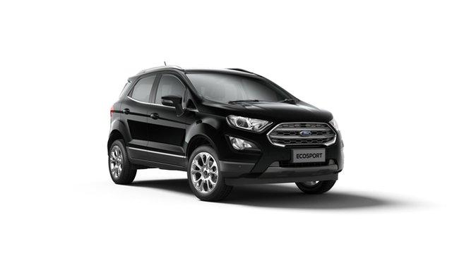 New Ford Ecosport BL 2019.25MY Titanium, 2019 Ford Ecosport BL 2019.25MY Titanium Shadow Black 6 Speed Automatic Wagon