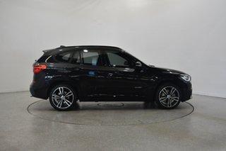 2017 BMW X1 F48 xDrive25i Steptronic AWD Black 8 Speed Sports Automatic Wagon.