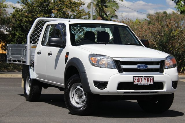 Used Ford Ranger PK XL Crew Cab, 2011 Ford Ranger PK XL Crew Cab White 5 Speed Automatic Utility