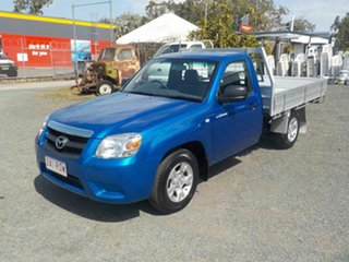 2011 Mazda BT-50 09 Upgrade Boss B2500 DX Blue 5 Speed Manual Cab Chassis.