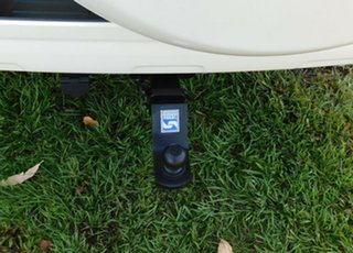 2011 Toyota Landcruiser Prado GRJ150R Kakadu White 5 Speed Sports Automatic Wagon
