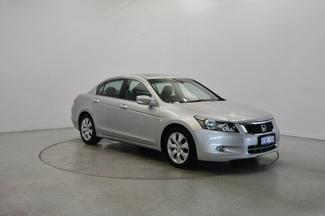Used Honda Accord 8th Gen VTi-L, 2008 Honda Accord 8th Gen VTi-L Silver 5 Speed Sports Automatic Sedan