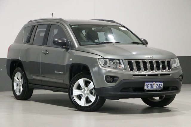 Used Jeep Compass MK MY12 Sport (4x2), 2013 Jeep Compass MK MY12 Sport (4x2) Grey 5 Speed Manual Wagon