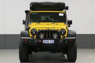 2015 Jeep Wrangler JK MY15 Sport (4x4) Yellow 6 Speed Manual Softtop.