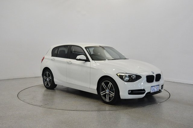Used BMW 118i F20 , 2012 BMW 118i F20 White 8 Speed Sports Automatic Hatchback