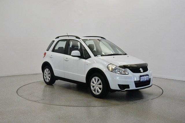 Used Suzuki SX4 GYA MY11 , 2012 Suzuki SX4 GYA MY11 White 6 Speed Constant Variable Hatchback