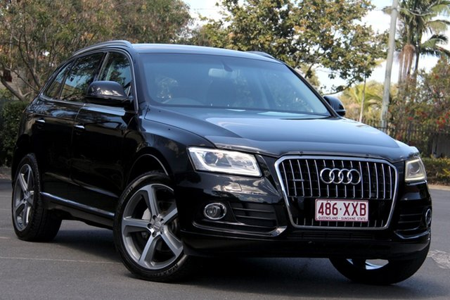 Used Audi Q5 8R MY15 TDI S tronic quattro, 2014 Audi Q5 8R MY15 TDI S tronic quattro Black 7 Speed Sports Automatic Dual Clutch Wagon