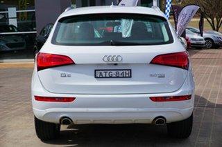 2013 Audi Q5 8R MY13 TDI S tronic quattro White 7 Speed Sports Automatic Dual Clutch Wagon